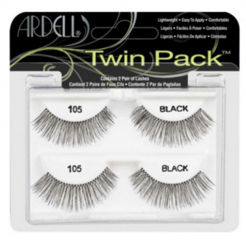 Faux-cils Twin Pack 105 Black