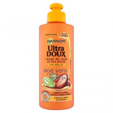 Ultra Doux Crème Soin Ultra Riche à l'Aloe Vera et Karité Pur